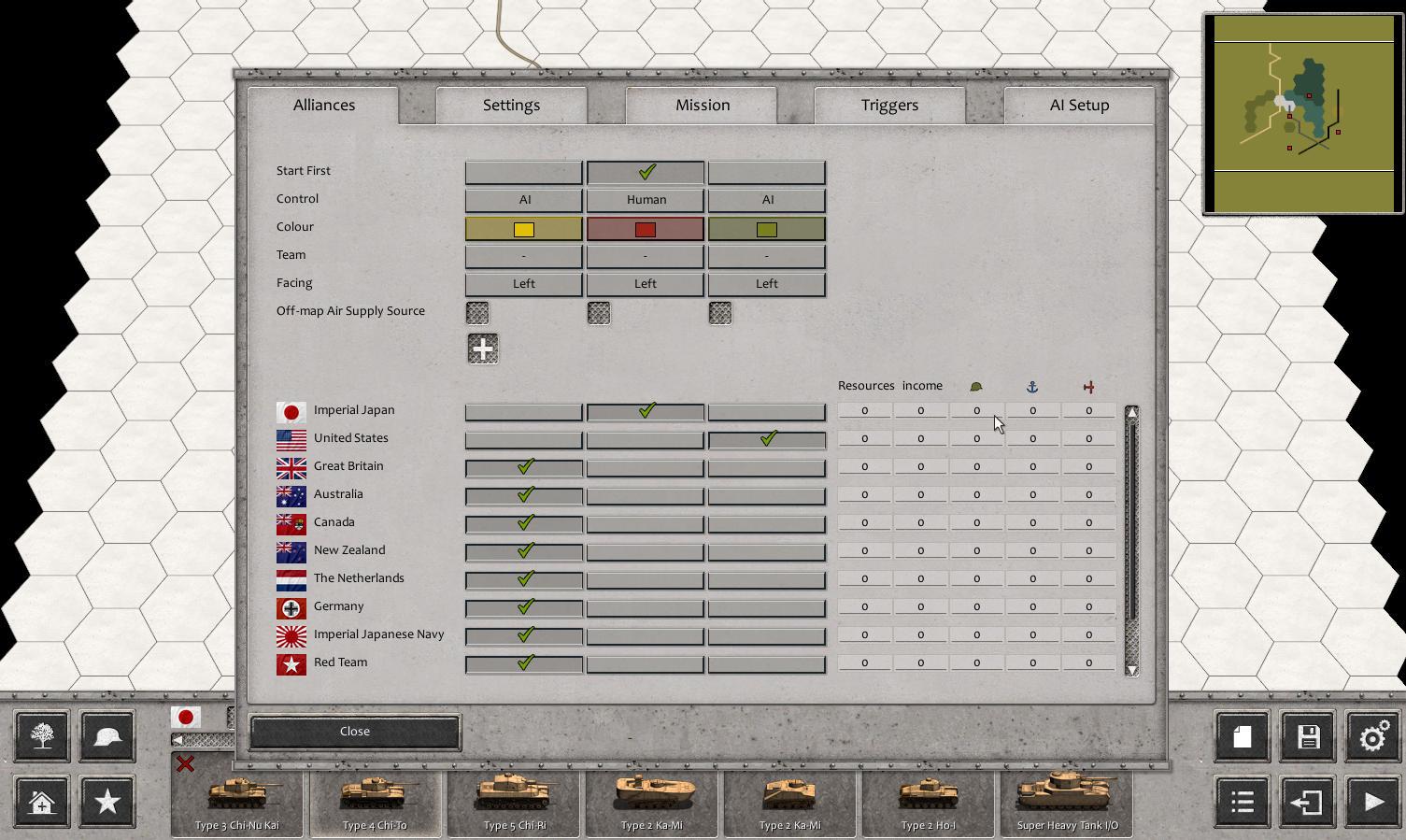 Order of Battle Scenario Editor