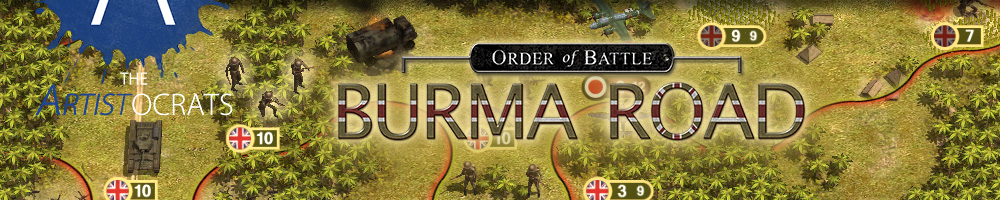 Order Of Battle Burma Road The Artistocrats